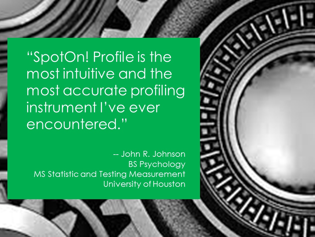 John R. Johnson, University of Houston, Most accurate franchisee profile
